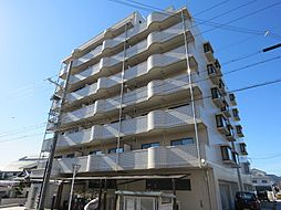 滋賀県近江八幡市鷹飼町の賃貸マンションの外観