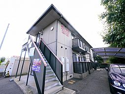 岡山県岡山市中区西川原の賃貸アパートの外観