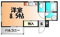 コ−ポTM[1階]の間取り