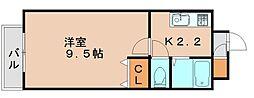 ソフィア箱崎駅前[3階]の間取り