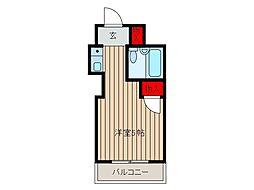 中青木グレースハイム[3階]の間取り