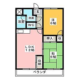 CASA GRANDE[2階]の間取り