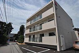 富山県富山市有沢の賃貸マンションの外観