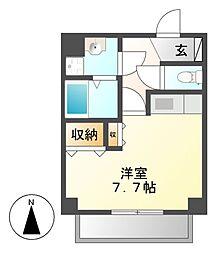 SOCIA内山(ソシア)[5階]の間取り
