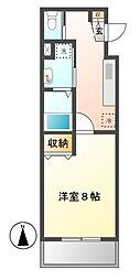 愛知県名古屋市中村区千成通1の賃貸マンションの間取り