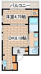 兵庫県神戸市須磨区養老町3丁目の賃貸アパートの間取り