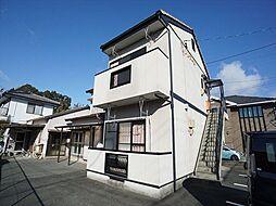 静岡県浜松市中区上島7の賃貸アパートの外観