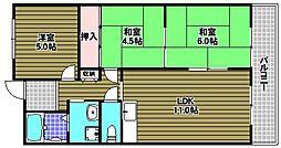 メルベーユ246[2階]の間取り