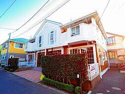 東京都西東京市柳沢3丁目の賃貸アパートの外観