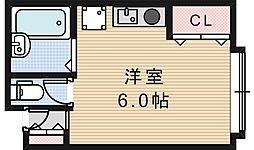 シャンブル昭和町[3階]の間取り