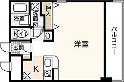 ヒルサイドこいとう坂[1階]の間取り