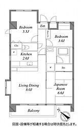 グランドールマンション[3階]の間取り