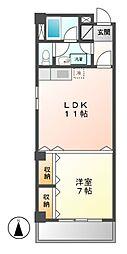 ジュネスKOKAMO(JUNESU・KOKAMO)[3階]の間取り