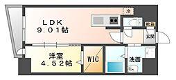 LAZO Kiyokawa[2階]の間取り