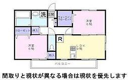 花水木2[2階]の間取り