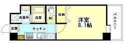 SEIWA BLD 3階1Kの間取り