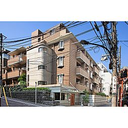 東京都新宿区市谷田町2丁目の賃貸マンションの外観