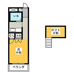 ラ・メゾンド・リラ[2階]の間取り