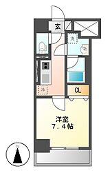 キャナルスクエア[1階]の間取り