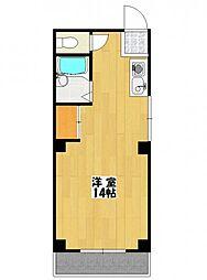 シュロス飯田2[3階]の間取り