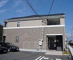 京都府京田辺市東西神屋の賃貸アパートの外観