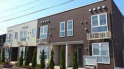 新潟県新潟市中央区親松の賃貸アパートの外観