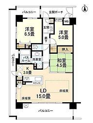 新大阪ウィスト[7階]の間取り