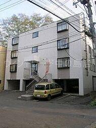 北海道札幌市豊平区中の島二条12丁目の賃貸マンションの外観
