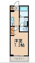 サブリナII[2階]の間取り