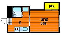 レクサス神田[1階]の間取り