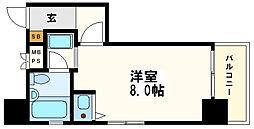 ライオンズマンション上町[11階]の間取り