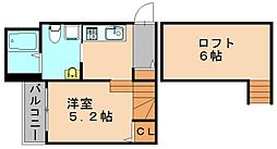 フローラ博多南[1階]の間取り