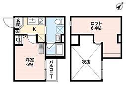 SOLVITA NISHIAKASHI(ソルヴィータニシアカ[1階]の間取り