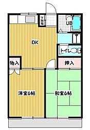 ルアラル・タナカ[B-103号室号室]の間取り