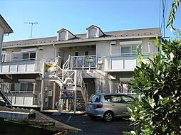 滋賀県大津市南志賀2丁目の賃貸アパートの外観