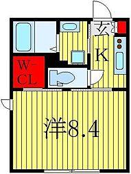 フォルス28[2階]の間取り