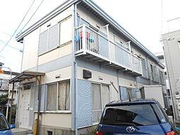 神奈川県横浜市神奈川区白幡町の賃貸アパートの外観