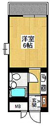 NEOダイキョー武庫之荘[309号室]の間取り