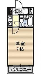 メゾン矢倉[202号室号室]の間取り