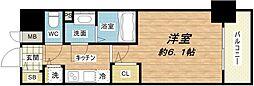 メインステージ大阪ノースマーク[6階]の間取り