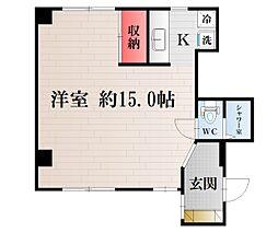 リバーサイドマンションII[F号室]の間取り