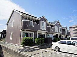 愛知県岡崎市大和町字鳥ケ城の賃貸アパートの外観
