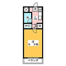 グランルームひまわり[2階]の間取り