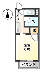 リハイムムラセ[1階]の間取り