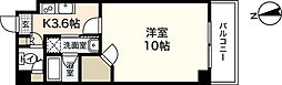 Grand jete Funairi[6階]の間取り