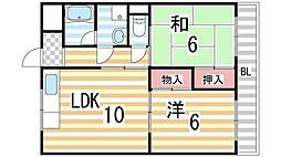 ハイム山田[305号室]の間取り