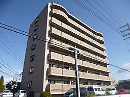 大阪府富田林市甲田1丁目の賃貸マンションの外観