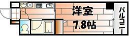 エンゼルコート清水[5階]の間取り