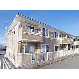長野県須坂市大字野辺野辺町の賃貸アパートの外観