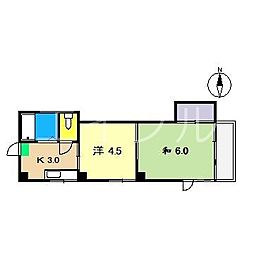 ハイツ15[3階]の間取り